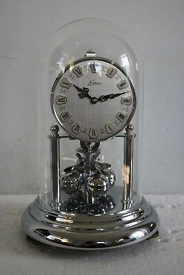 Med size CHROME Kern Anniversary clock 400.day clock dome clock