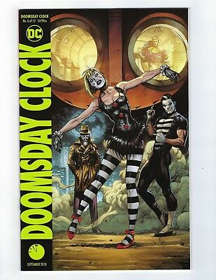 Doomsday Clock # 6 of 12 Variant Cover NM DC