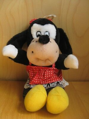 Vintage Playmakers soft plush toy Goofy Disney