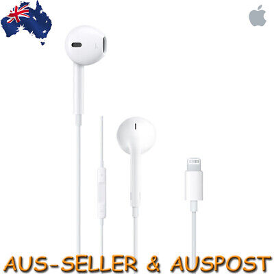 Genuine Apple Earpods iPhone 7 8 X Headset A1748 Lightning Cable Connector 8 Pin