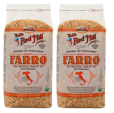2 Bags of Bobs Red Mill  Organic Farro 24 OZ - Grains of Discovery