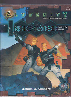 Alternity - Science Fiction Roleplaying Game: Incident at Exile