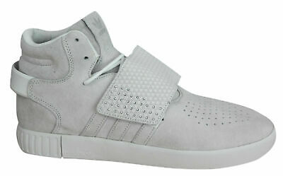 2bcd71a205c8 Adidas Tubular Invader Strap Mens Trainers Lace Up Leather Suede BB5038 Opp  M10