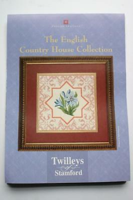 "TWILLEYS embroidery full CROSS STITCH Audley end house SEWING KIT 6"" X 5""   A5"