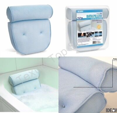 Home Spa Lumbar pillow cushion Bath Pillow Cradle For Your Neck And Shoulders