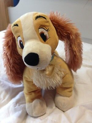 Official Disney Lady  The Tramp 20cm Lady Soft Plush Toy