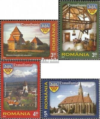 Romania 6685-6688 (complete.issue.) unmounted mint / never hinged 2013 attractio