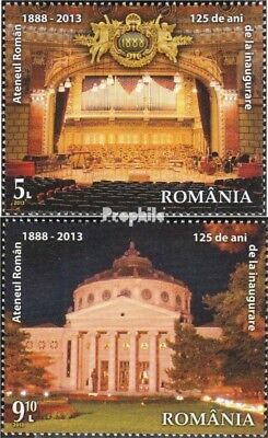Romania 6680-6681 (complete.issue.) unmounted mint / never hinged 2013 125 years