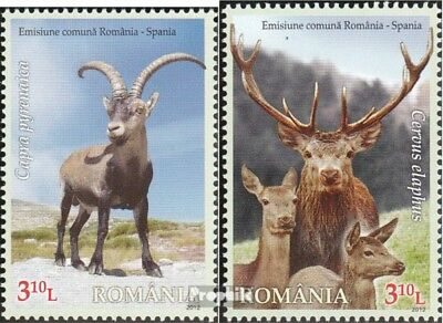 Romania 6656-6657 (complete.issue.) unmounted mint / never hinged 2012 Bergfauna