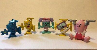"2007  Wow Wow Wubbzy 2.5"" Kooky Stackable PVC Action Figures Lot✔️"