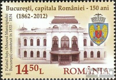 Romania 6597 (complete.issue.) unmounted mint / never hinged 2012 150 years Buch