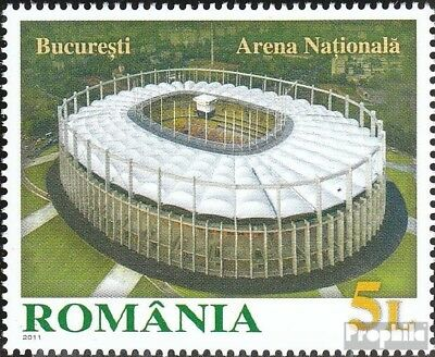 Romania 6559 (complete.issue.) unmounted mint / never hinged 2011 Nationalarena