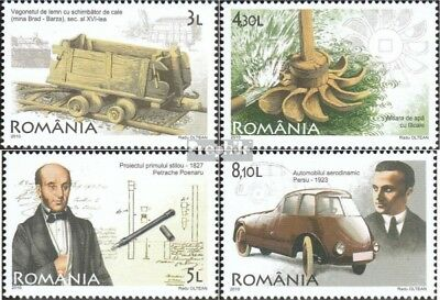 Romania 6481-6484 (complete.issue.) unmounted mint / never hinged 2010 Romanian