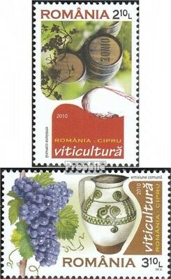 Romania 6477A-6478A (complete.issue.) unmounted mint / never hinged 2010 Viticul