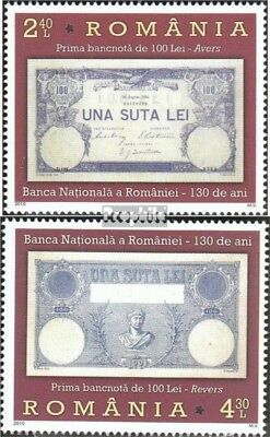 Romania 6464-6465 (complete.issue.) unmounted mint / never hinged 2010 130 years