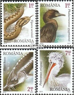 Romania 6445-6448 (complete.issue.) unmounted mint / never hinged 2010 Protected