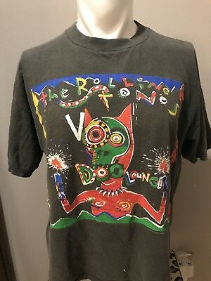 VTG 1995 The Rolling Stones Voodoo Lounge World Tour Tee-XL