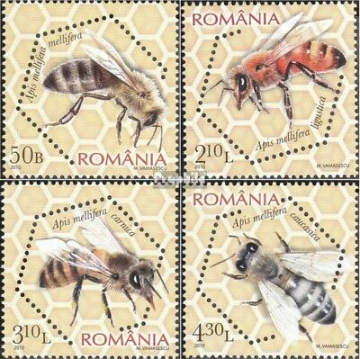Romania 6406A-6409A (complete.issue.) unmounted mint / never hinged 2010 Honigbi