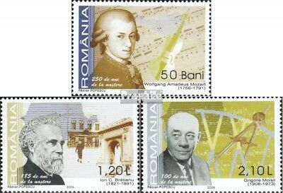 Romania 6028-6030 (complete.issue.) unmounted mint / never hinged 2006 Anniversa