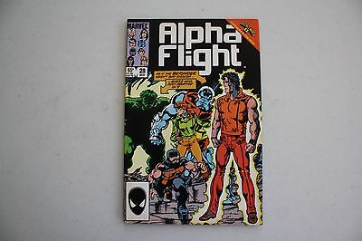 Marvel Comics Alpha Flight #28  1985   B701