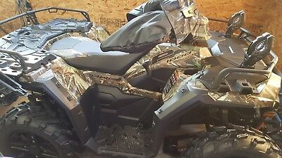 LIKE NEW 2018 Polaris Sportsman XP1000 Camo/plow-only 120 miles-extras-MUST SEE