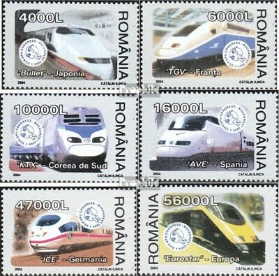 Romania 5799-5804 (complete.issue.) unmounted mint / never hinged 2004 Hochgesch