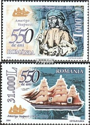 Romania 5793-5794 (complete.issue.) unmounted mint / never hinged 2004 Amerigo V
