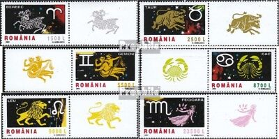 Romania 5628-5633 with zierfeld (complete.issue.) unmounted mint / never hinged