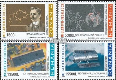 Romania 5604-5607 (complete.issue.) unmounted mint / never hinged 2001 that 20.C