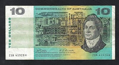 Commonwealth of Australia 1968 Phillips/Randall $10 Star Replacement Note R303S