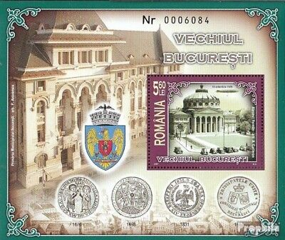 Romania Block398 (complete.issue.) unmounted mint / never hinged 2007 that Old B