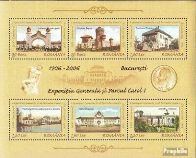 Romania Block378 (complete.issue.) unmounted mint / never hinged 2006 Provincial