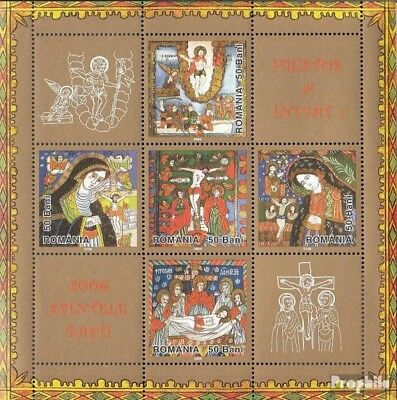 Romania Block369I (complete.issue.) unmounted mint / never hinged 2006 Easter -