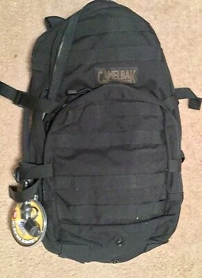 RARE, Hard To Find, Black Camelbak HAWG daypack with hydration system
