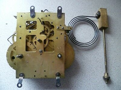 Vintage American Clock Movement spares/repairs