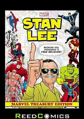 STAN LEE MARVEL TREASURY EDITION SLIPCASE HARDCOVER (816 Pages) New Hardback