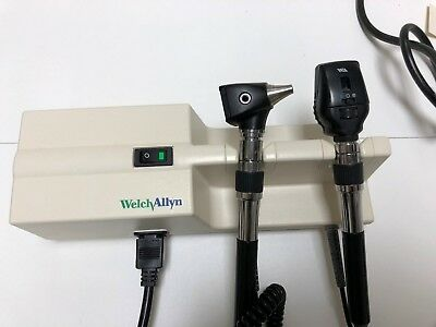 Welch Allyn Diagnostic Set Otoscope 25020 & Ophthalmoscope 11720 767 transformer