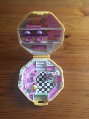 Vintage Polly Pocket Hair Salon 1990 Polly's Hair Salon 100% Complete