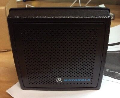 NEW Motorola HSN1000BR Amplified Mobile Radio Speaker for Mostar Motrac MSF5000