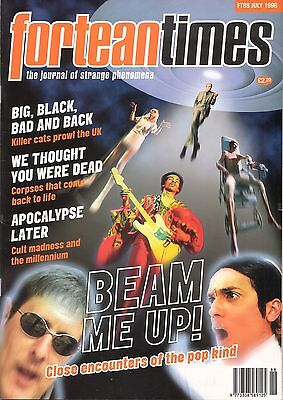 FORTEAN TIMES UK MAGAZINE issue 88 July 1996