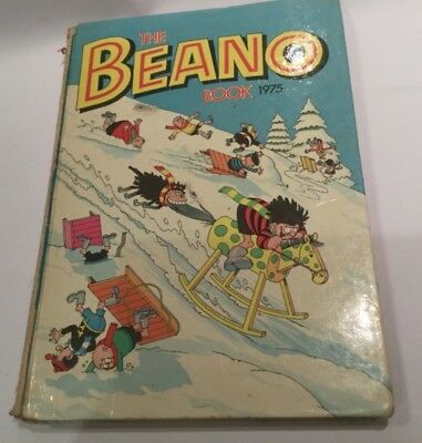 THE BEANO BOOK 1975 vintage comic annual