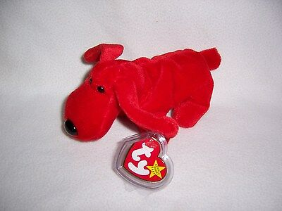 TY Beanie Baby Babies ROVER Dog 1996 MINT Private Collection