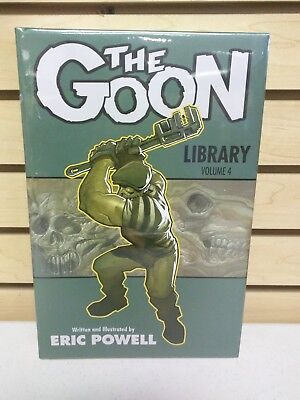 The Goon Library Vol 4 Hardcover - New & Sealed Deluxe HC