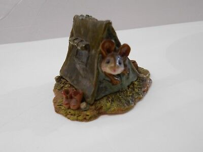 Wee Forest Folk Mouse In Tent