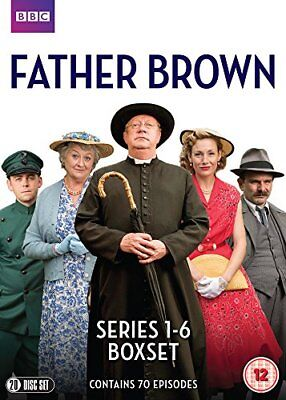 Father Brown Series 1-6 DVD New 2018 Region 2