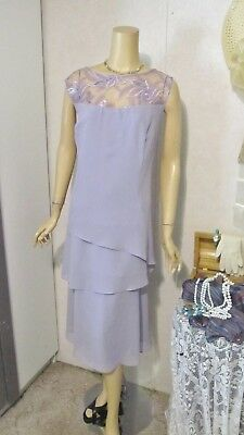 Mother Of The Bride Dress by Le Bos-Size 20- Lavender