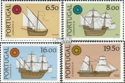 Portugal 1504x-1507x (complete.issue.) unmounted mint / never hinged 1980 LUBRAP