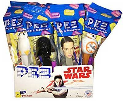 PEZ Candy Star Wars Dispensers Dreamworks 12 Count Poly Packs