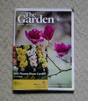 'The Garden' - March 2018 issue - RHS Royal Horticultural Society magazine