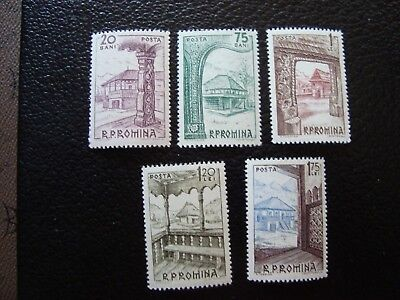 ROMANIA - stamp yvert/tellier n° 1952 1955 a 1958 n MNH (COL1)